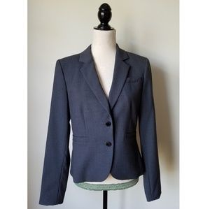 Calvin Klein Two-button Luxe Career Blazer